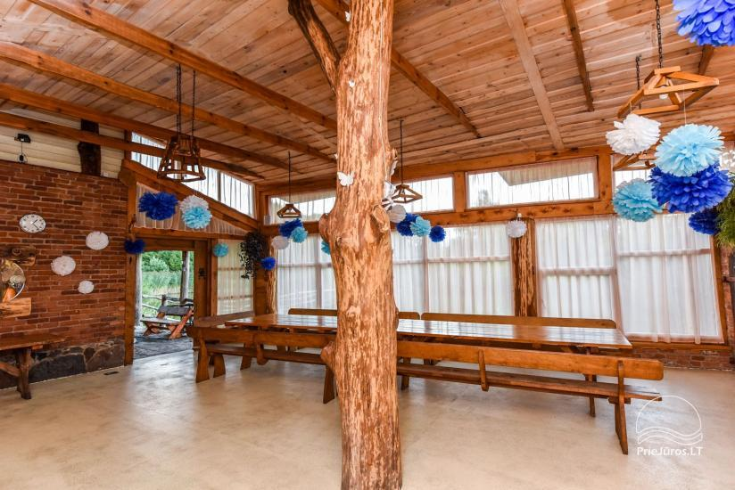 Homestead, sauna and banquet hall for rent, 10 km from Klaipeda, near minizoo - 18