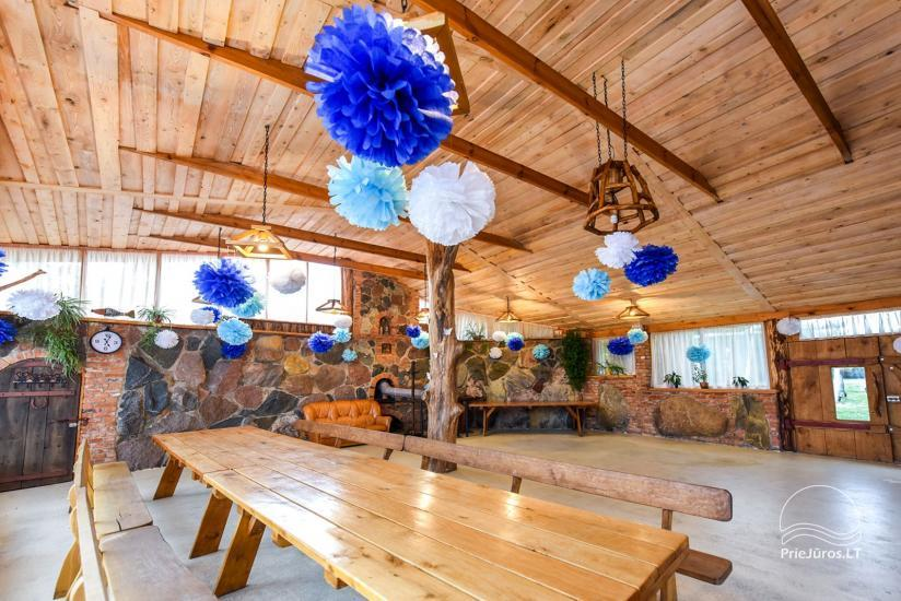 Homestead, sauna and banquet hall for rent, 10 km from Klaipeda, near minizoo - 19