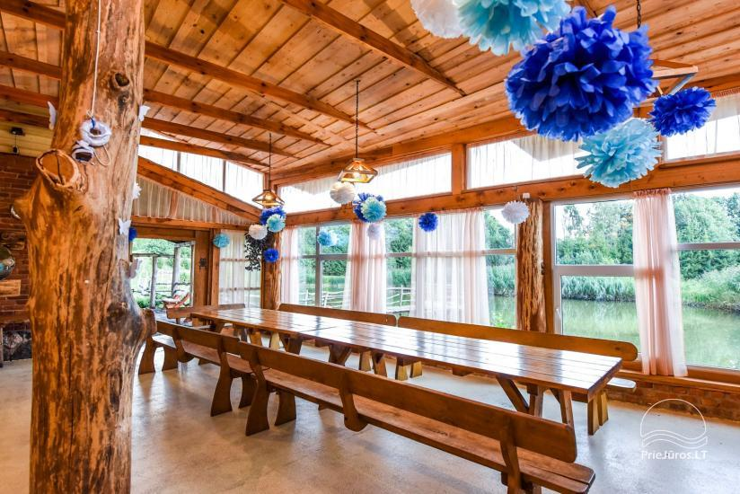 Homestead, sauna and banquet hall for rent, 10 km from Klaipeda, near minizoo - 21