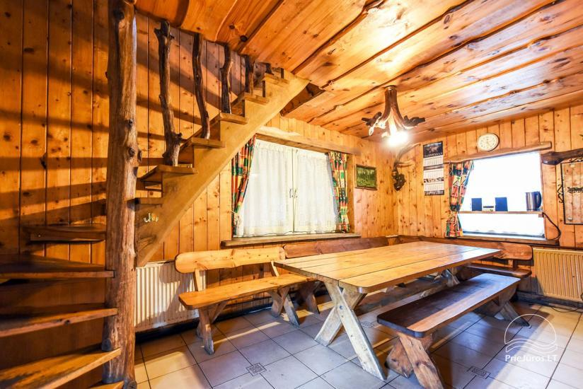 Homestead, sauna and banquet hall for rent, 10 km from Klaipeda, near minizoo - 22