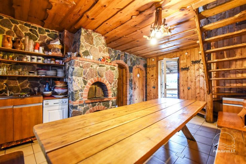 Homestead, sauna and banquet hall for rent, 10 km from Klaipeda, near minizoo - 24