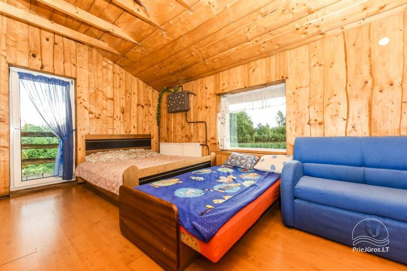 Homestead, sauna and banquet hall for rent, 10 km from Klaipeda, near minizoo - 25