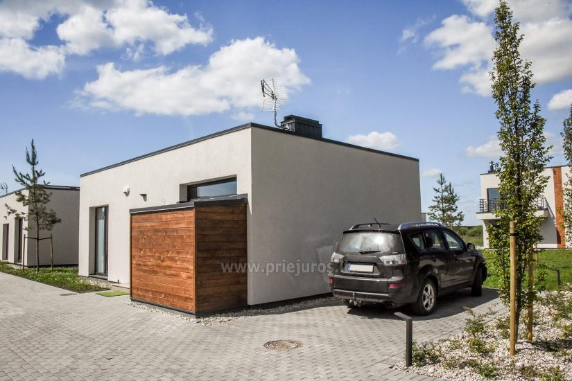 House with terrace for rent in Palanga, in Kunigiskes. Up to 8 persons - 9