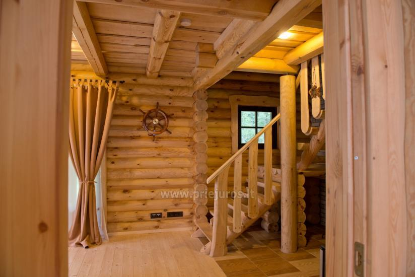Wooden villas for rent in Palanga - Atostogu parkas - 4