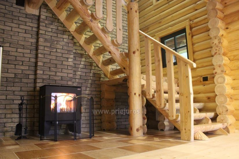 Wooden villas for rent in Palanga - Atostogu parkas - 6
