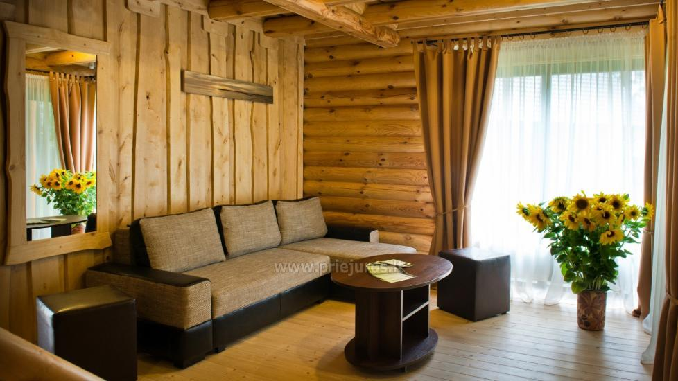 Wooden villas for rent in Palanga - Atostogu parkas - 9
