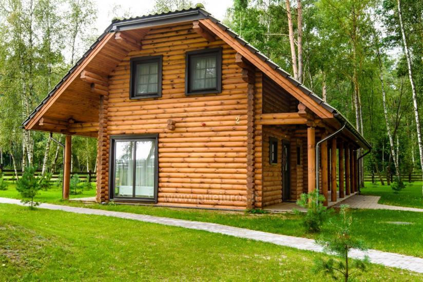 Wooden villas for rent in Palanga - Atostogu parkas - 1