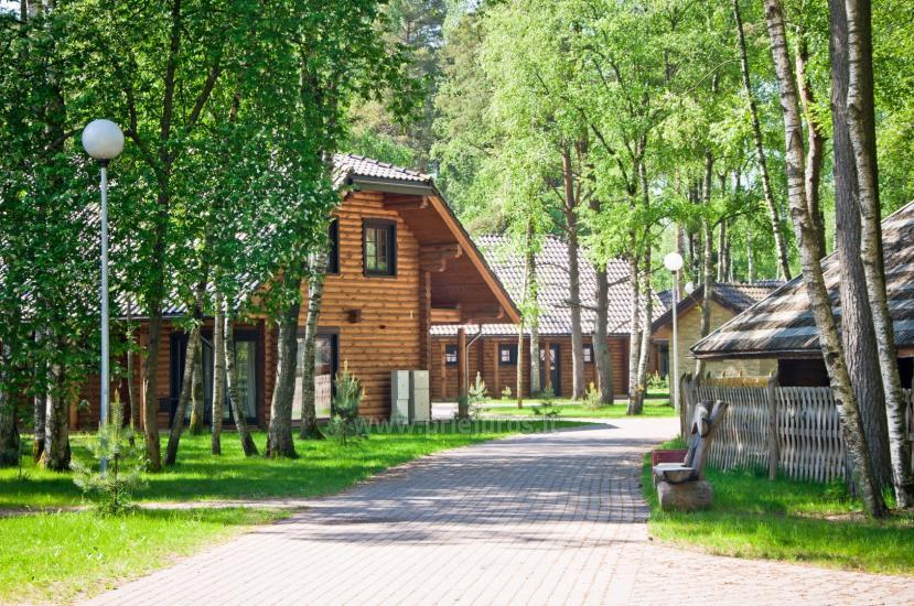 Wooden villas for rent in Palanga - Atostogu parkas - 14