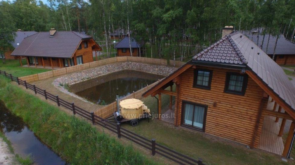 Wooden villas for rent in Palanga - Atostogu parkas - 16