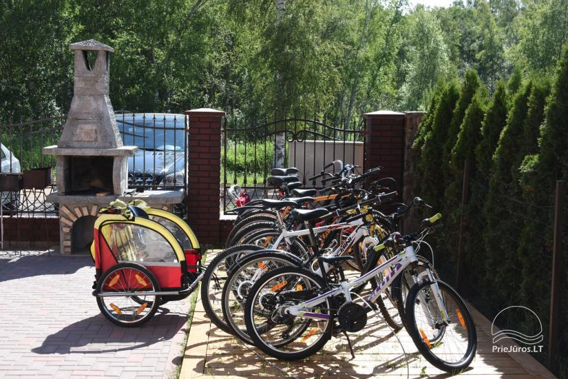 Bicycles for our guests