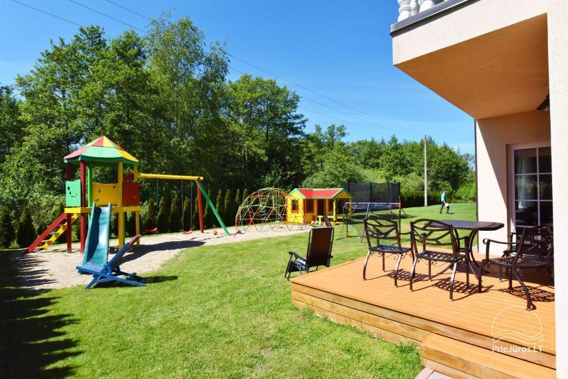 Jauni brīvdienu māja, apartamenti un numuri ar virtuvi un terasēm Palangā - villa OPTIMISTAS - 26