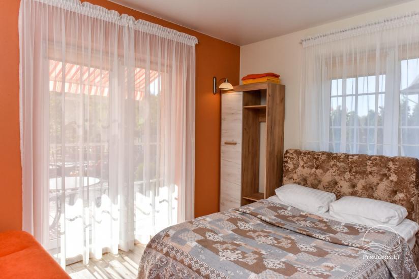 Jauni brīvdienu māja, apartamenti un numuri ar virtuvi un terasēm Palangā - villa OPTIMISTAS - 21