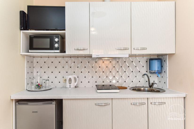 Jauni brīvdienu māja, apartamenti un numuri ar virtuvi un terasēm Palangā - villa OPTIMISTAS - 24