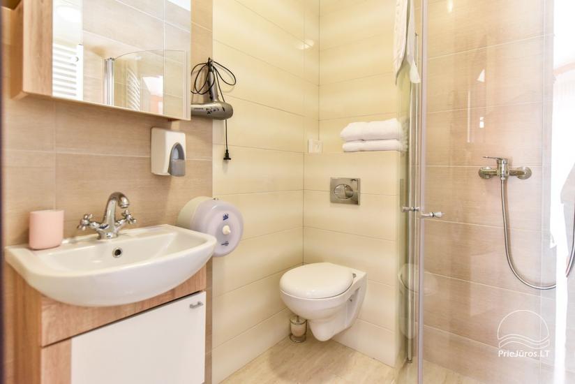 Jauni brīvdienu māja, apartamenti un numuri ar virtuvi un terasēm Palangā - villa OPTIMISTAS - 25