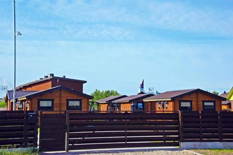 New holiday cottages in Sventoji - quiet recreation for families and freinds