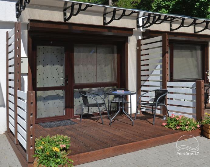 Mini butas - studija Nidos centre. Atskiras įėjimas iš kiemo, terasa - 1