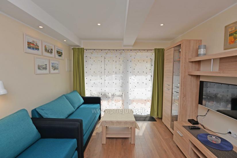 Mini butas - studija Nidos centre. Atskiras įėjimas iš kiemo, terasa - 5