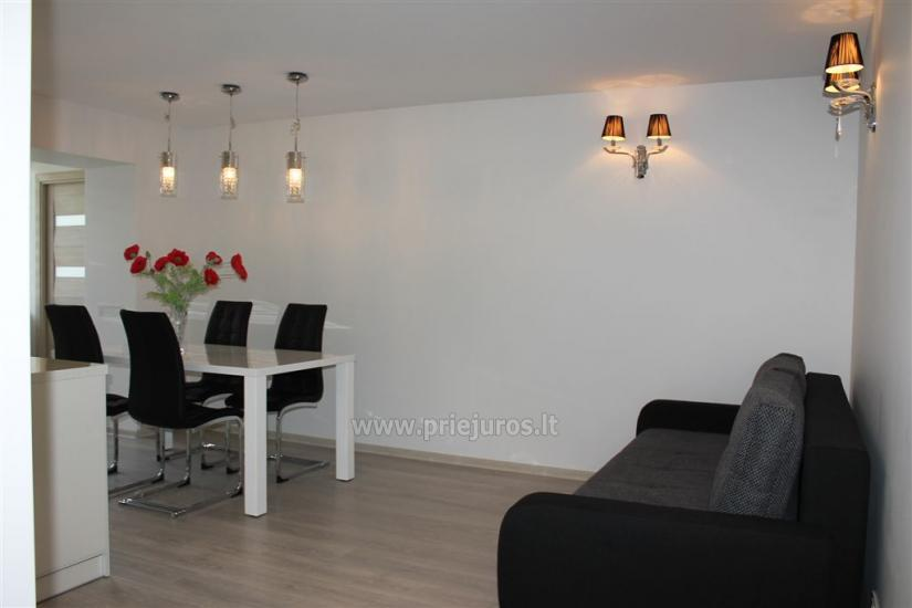 Modern and elegant three rooms apartment in the center of Nida - 4