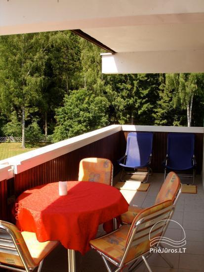 Išnuomojami keturių kambarių apartamentai Juodkrantės centre su vaizdu į Kuršių marias bei nuostabiu gamtos reginiu į Raganų kalną - 1
