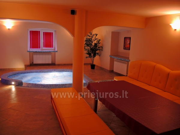 Accommodation, sauna and jacuzzi in Klaiepda - 6