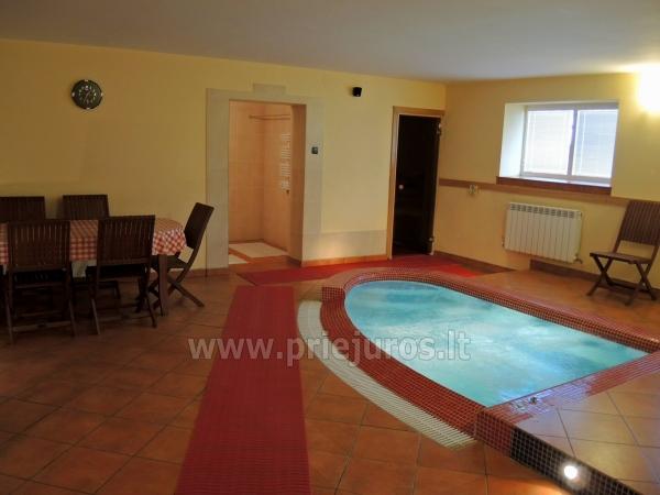 Accommodation, sauna and jacuzzi in Klaiepda - 10