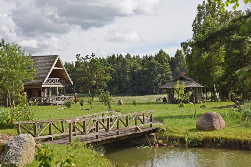 Poilsis sodyboje Vila Vilaitė ant ežero kranto - 3