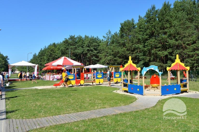 Palangos vaikų pramogų parkas už 600 m