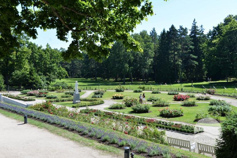 Palangos botanikos parkas ir Gintaro muziejus
