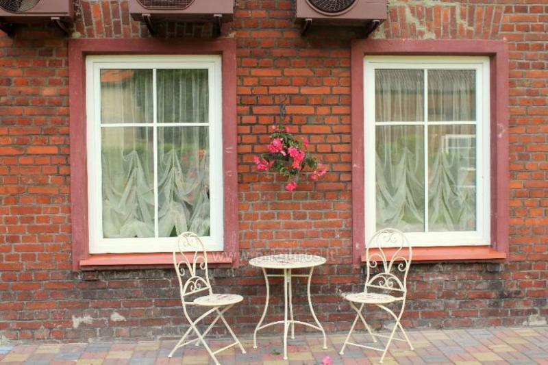 Geräumige Wohnung mit einem Garten