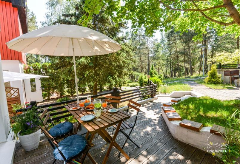 Only 0.5 mile to the beach! Apartment in Nida with the terrace in a pine forest - 13