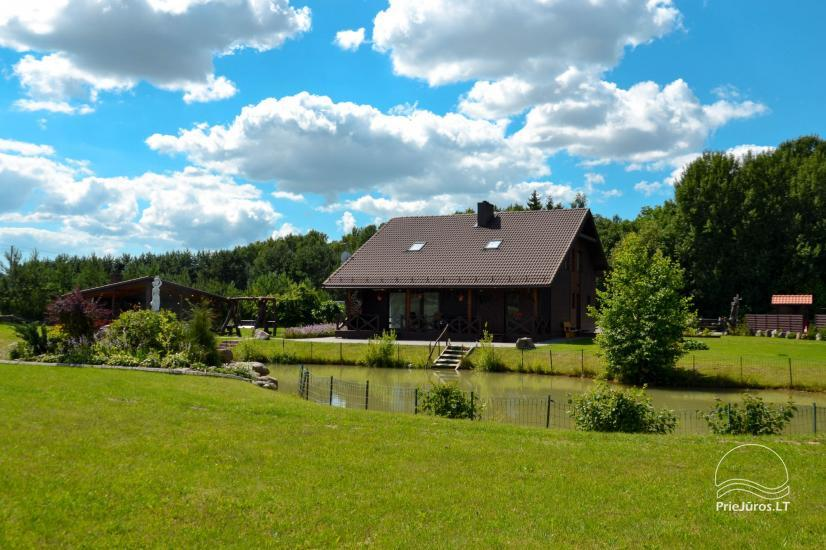 Homestead for rent for your rest or celebrations in Lithuania - 15