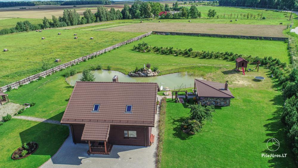 Homestead for rent for your rest or celebrations in Lithuania - 11