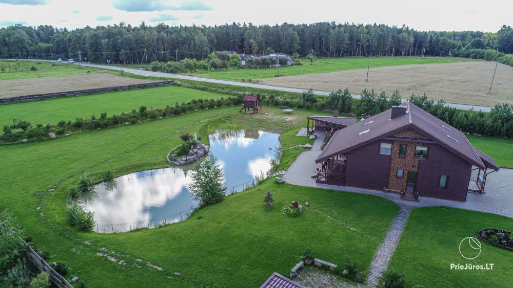 Homestead for rent for your rest or celebrations in Lithuania - 10