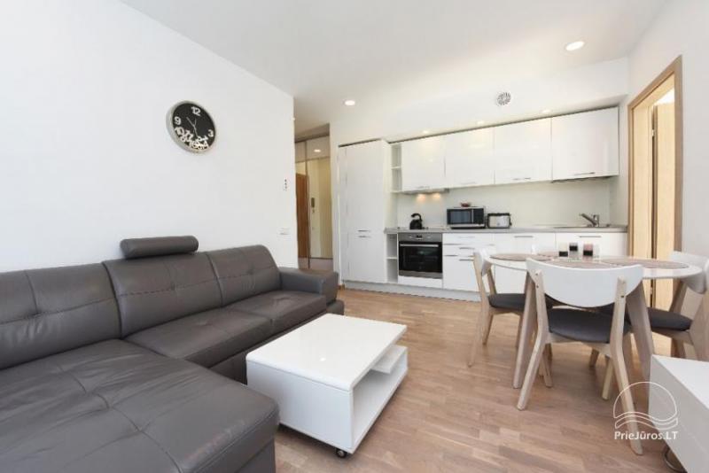 Smilčių trio apartamentų nuoma Palangoje