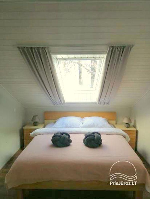Dviejų kamb. butas su pirtimi ant Kuršių marių kranto