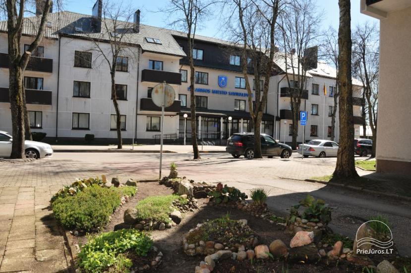 1 kambario butas Palangos centre prie grojančio fontano - 11