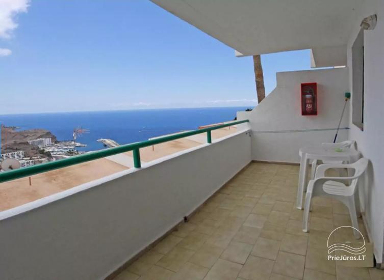 Apartamentai 4 asmenims Pietinėje Gran Kanarijoje - Puerto Rice PASITINKAME ORO UOSTE - 1