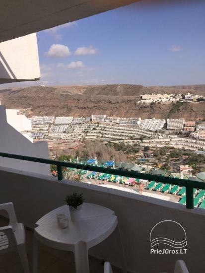 Apartamentai 4 asmenims Pietinėje Gran Kanarijoje - Puerto Rice PASITINKAME ORO UOSTE - 2