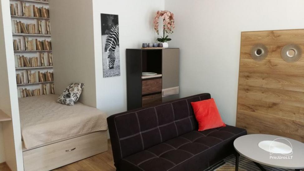 Trumpalaikė 1-2 kambarių apartamentų nuoma Klaipėdoje - 13