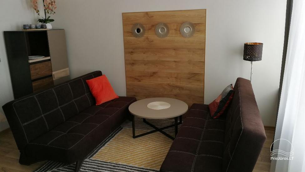 Trumpalaikė 1-2 kambarių apartamentų nuoma Klaipėdoje - 12