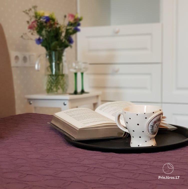 Neues Luxus-Apartment mit zwei Schlafzimmern in Palanga Marko apartamentai