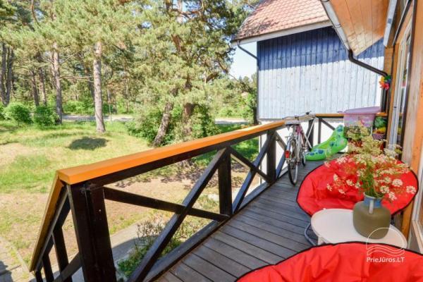 Dviejų miegamųjų butas Nidoje su vaizdu į marias