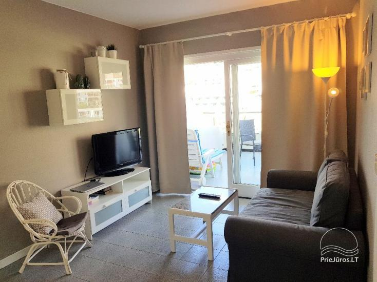 Two-room apartments with a large balcony in the south of Gran Canaria, Puerto Rico - 8