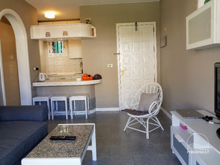 Dviejų kambarių apartamentai su dideliu balkonu Gran Kanarijos pietuose, Puerto Rico - 14