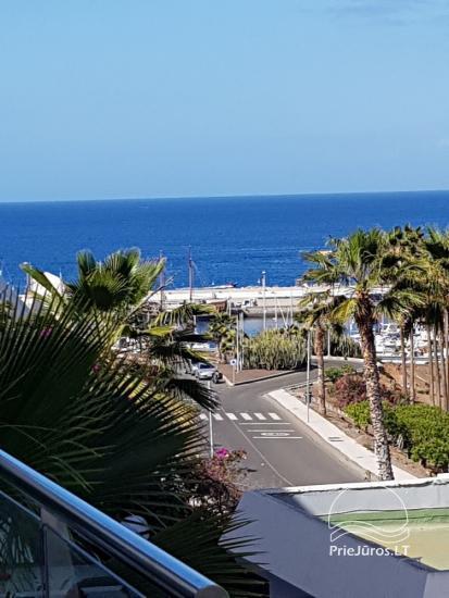 Dviejų kambarių apartamentai su dideliu balkonu Gran Kanarijos pietuose, Puerto Rico - 18
