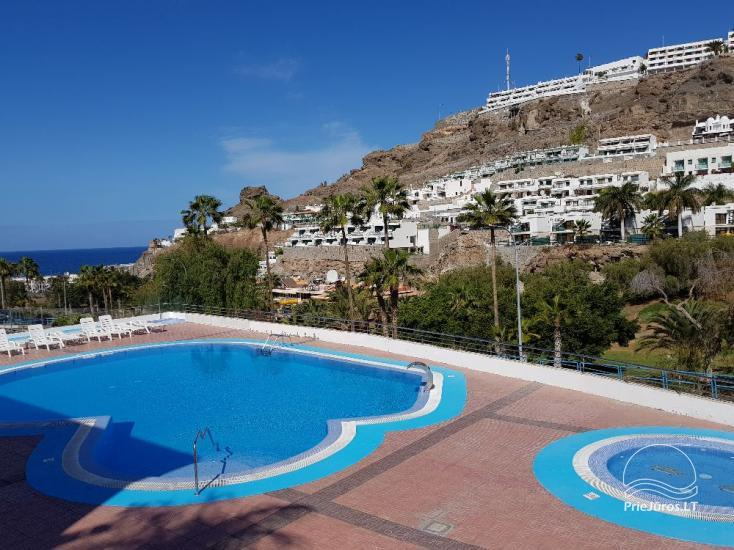Two-room apartments with a large balcony in the south of Gran Canaria, Puerto Rico - 1