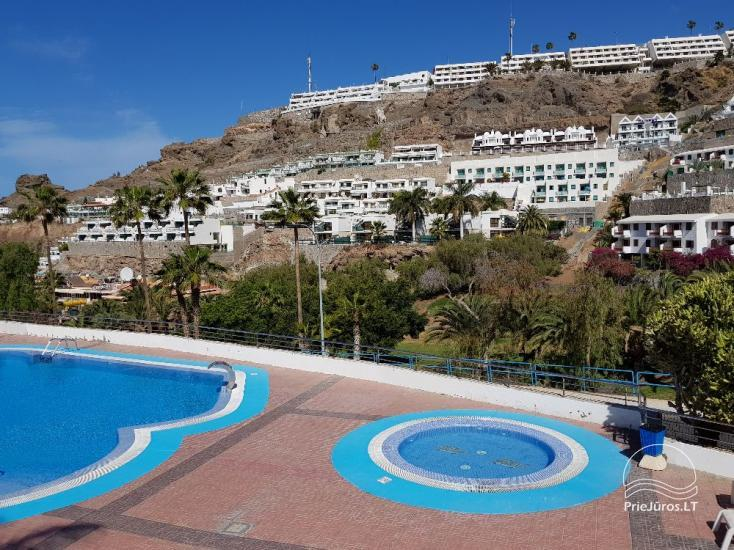 Two-room apartments with a large balcony in the south of Gran Canaria, Puerto Rico - 2