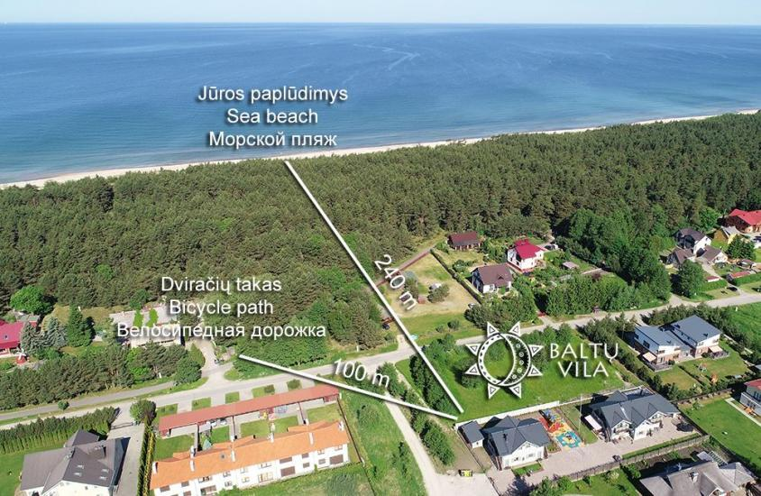 BALTŲ VILA in Palanga - New apartments for family vacation 240 m to the sea - 2