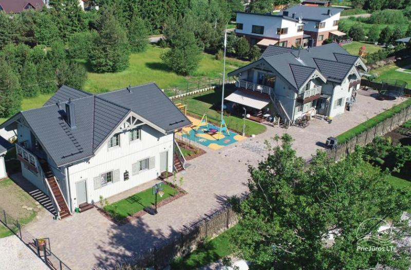Baltu vila in Palanga - Neue Apartments für Familienurlaub 240 m vom Meer entfernt