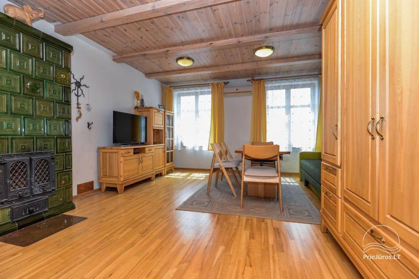 Trīs istabu dzīvoklis ar pagalmu, lapene - īre Nidā, Kuršu kāpā - 15